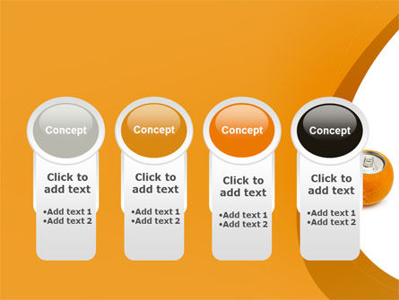 Orange In Can PowerPoint Template Slide 5