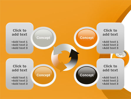 Orange In Can PowerPoint Template Slide 9