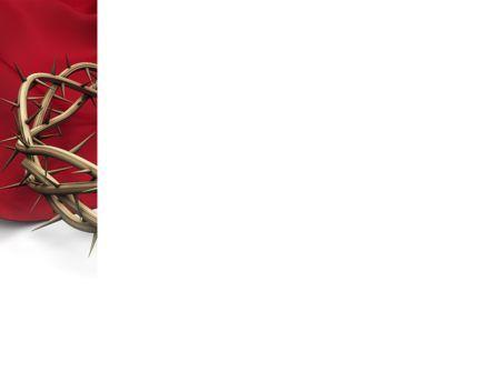 Crown Of Thorns PowerPoint Template, Slide 3, 08546, Religious/Spiritual — PoweredTemplate.com