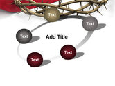 Crown Of Thorns PowerPoint Template#14