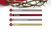 Crown Of Thorns PowerPoint Template#3