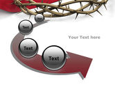 Crown Of Thorns PowerPoint Template#6