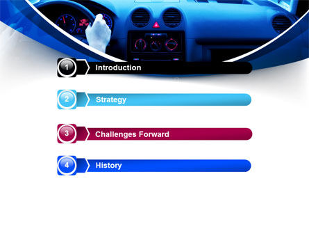 Ride Fast PowerPoint Template Slide 3