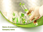 Technology and Science: Cultivation PowerPoint Template #08549