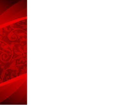 Arabesque PowerPoint Template, Slide 3, 08551, Abstract/Textures — PoweredTemplate.com