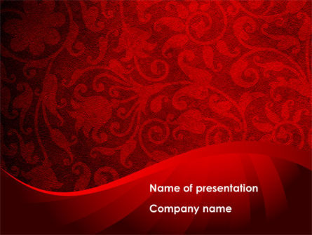 Abstract/Textures: Arabesque PowerPoint Template #08551