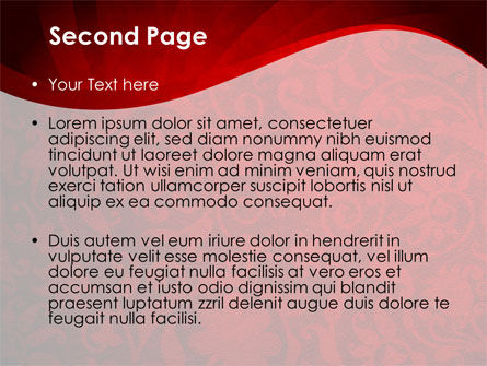 Arabesque PowerPoint Template Slide 2