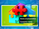 Consulting: Mortgage Banking PowerPoint Template #08553