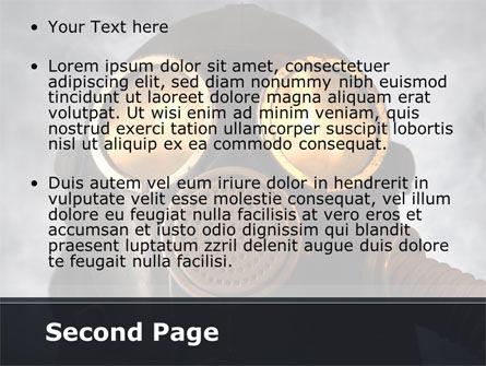 Gas Poisoning PowerPoint Template, Slide 2, 08554, Nature & Environment — PoweredTemplate.com