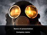 Nature & Environment: Gas Poisoning PowerPoint Template #08554