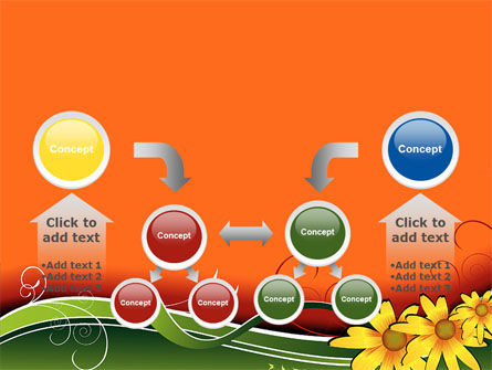 Floral Ornaments PowerPoint Template Slide 19