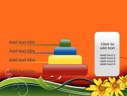 Floral Ornaments PowerPoint Template Slide 8