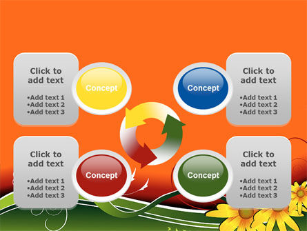 Floral Ornaments PowerPoint Template Slide 9