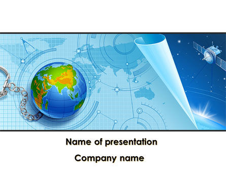 Technology and Science: Exploration Of Outer Space PowerPoint Template #08557