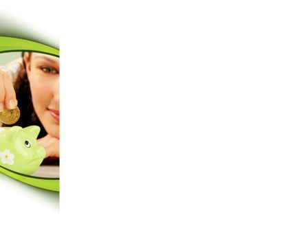 Saving PowerPoint Template, Slide 3, 08559, Financial/Accounting — PoweredTemplate.com