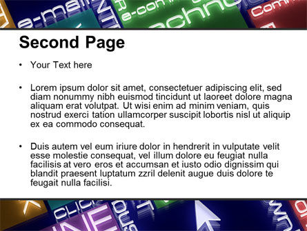 Online Technology PowerPoint Template, Slide 2, 08560, Technology and Science — PoweredTemplate.com