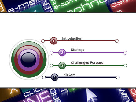 Online Technology PowerPoint Template, Slide 3, 08560, Technology and Science — PoweredTemplate.com