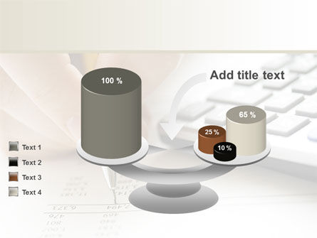 Calculation Accounts PowerPoint Template Slide 10
