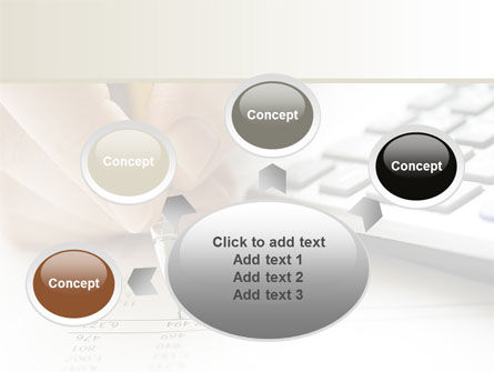 Calculation Accounts PowerPoint Template Slide 7