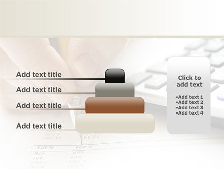 Calculation Accounts PowerPoint Template Slide 8