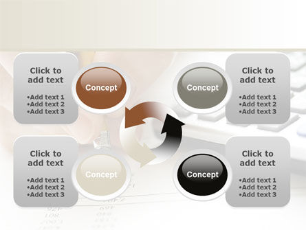 Calculation Accounts PowerPoint Template Slide 9