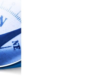 Blue Compass PowerPoint Template, Slide 3, 08568, Business Concepts — PoweredTemplate.com