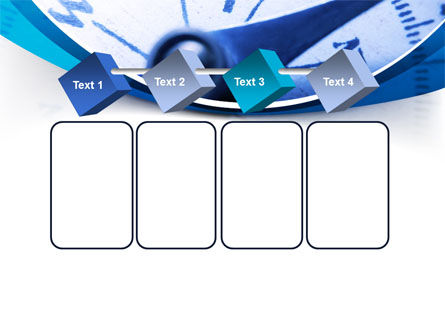 Blue Compass PowerPoint Template Slide 18