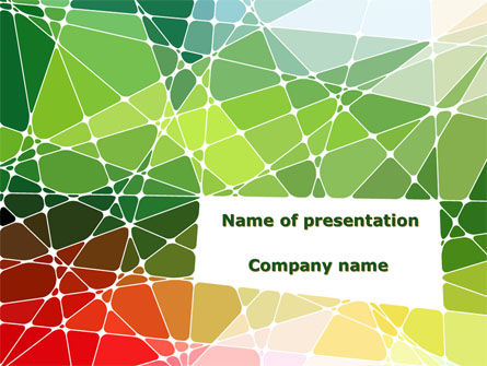 Mosaic Glasses PowerPoint Template