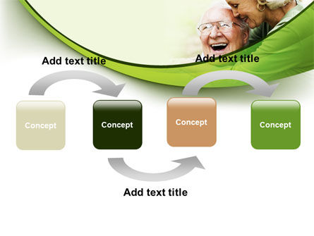 Elderly Couple PowerPoint Template Slide 4