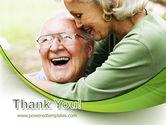 Elderly Couple PowerPoint Template#20