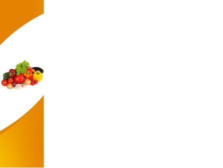 Vegetable Diet PowerPoint Template, Slide 3, 08574, Food & Beverage — PoweredTemplate.com