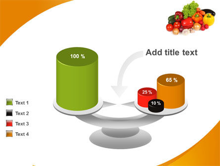 Vegetable Diet PowerPoint Template Slide 10