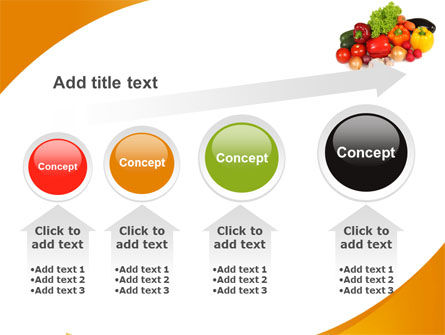 Vegetable Diet PowerPoint Template Slide 13