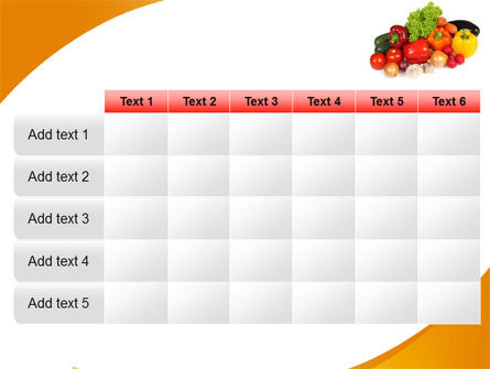Vegetable Diet PowerPoint Template Slide 15