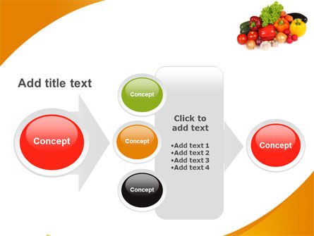 Vegetable Diet PowerPoint Template Slide 17