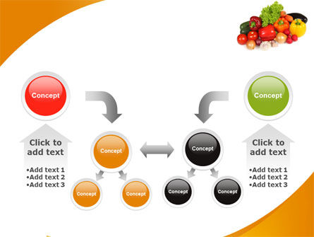 Vegetable Diet PowerPoint Template Slide 19