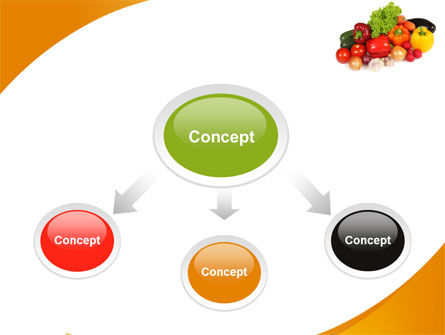 Vegetable Diet PowerPoint Template Slide 4