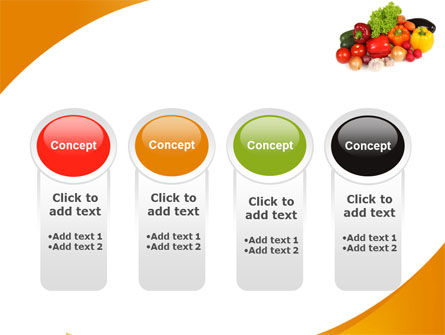 Vegetable Diet PowerPoint Template Slide 5
