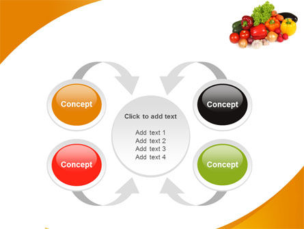 Vegetable Diet PowerPoint Template Slide 6