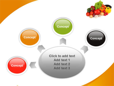 Vegetable Diet PowerPoint Template Slide 7