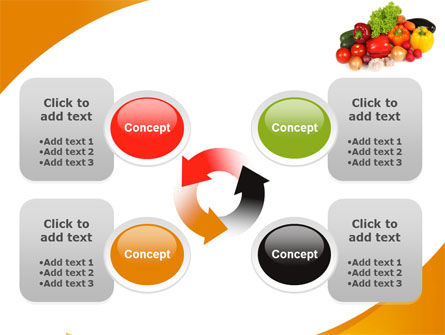 Vegetable Diet PowerPoint Template Slide 9