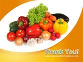 Vegetable Diet PowerPoint Template#20
