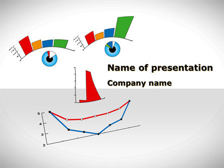 Diagram Smile PowerPoint Template, 08575, Consulting — PoweredTemplate.com