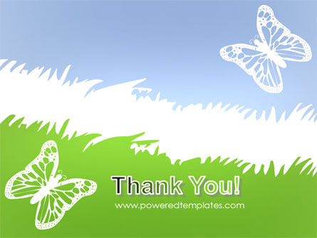 Summer Butterfly PowerPoint Template Slide 20