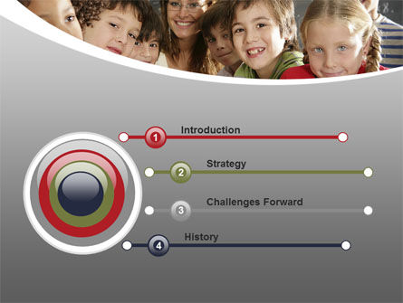 Primary Form PowerPoint Template, Slide 3, 08579, Education & Training — PoweredTemplate.com