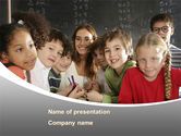 Education & Training: Primary Form PowerPoint Template #08579