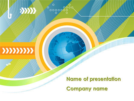 Global: Business Around-The-World PowerPoint Template #08584