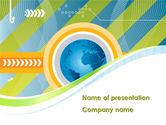 Global: Geschäft um die welt PowerPoint Vorlage #08584