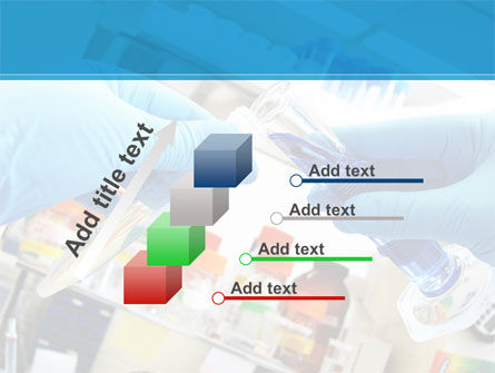 Thin Laboratory Tests Free PowerPoint Template Slide 14
