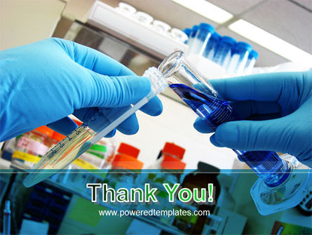 Thin Laboratory Tests Free PowerPoint Template Slide 20